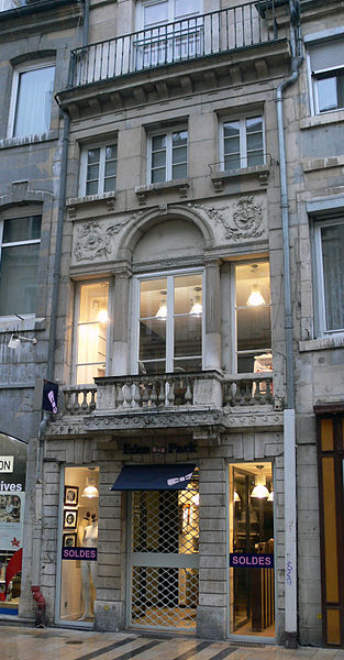Photo du Monument Historique Immeuble situé à Besançon