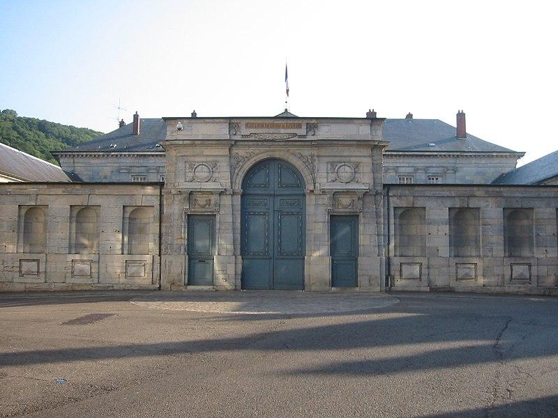 Photo du Monument Historique Ancienne Intendance de Franche-Comté, actuellement Hôtel de la Préfecture du Doubs situé à Besançon