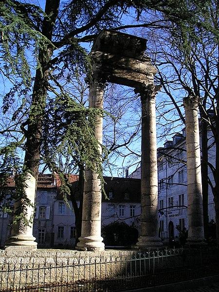 Photo du Monument Historique Jardin public situé à Besançon