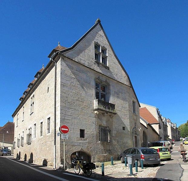Photo du Monument Historique Maison ou Hôtel Jouffroy situé à Besançon