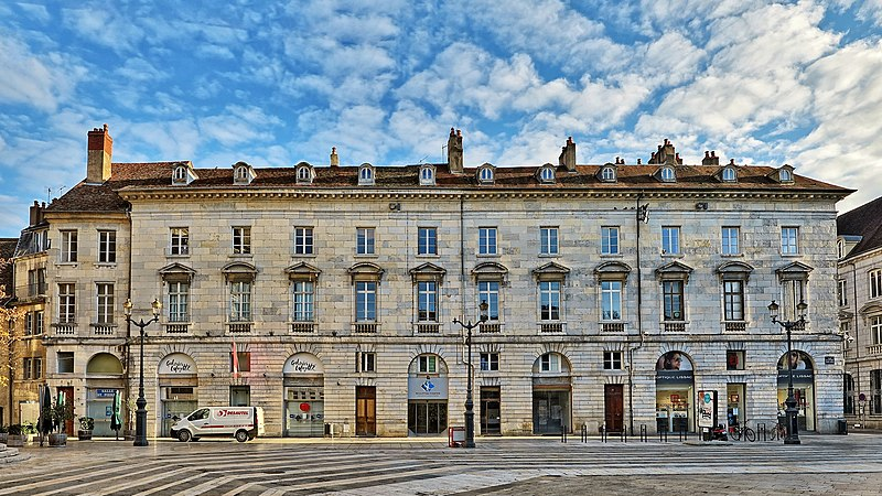 Photo du Monument Historique Maison situé à Besançon