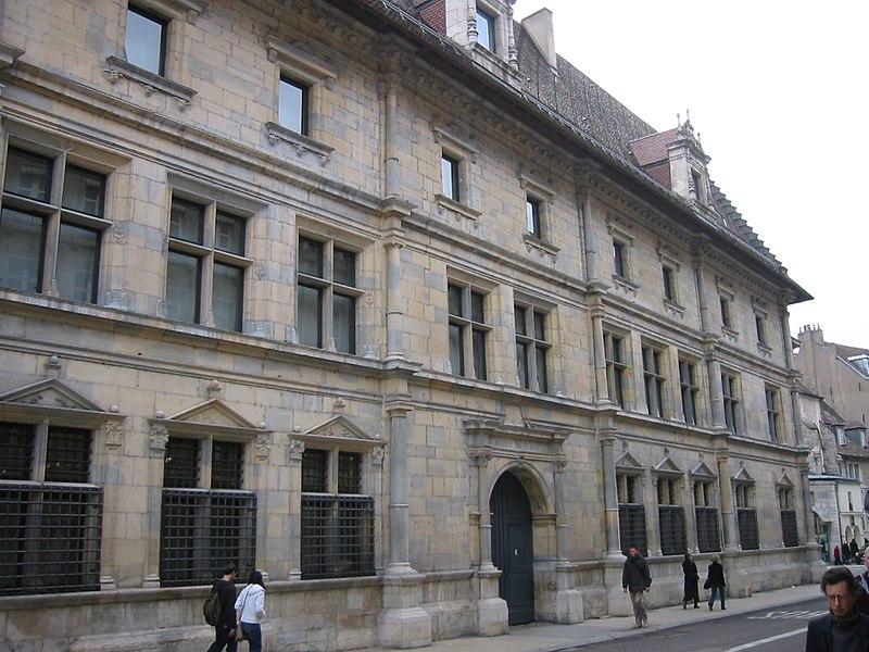 Photo du Monument Historique Palais Granvelle, actuellement musée situé à Besançon