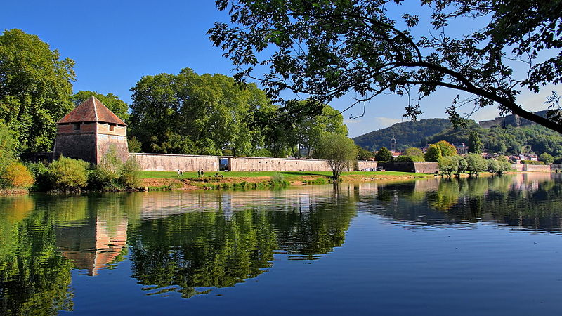 Photo du Monument Historique Remparts de Vauban situé à Besançon