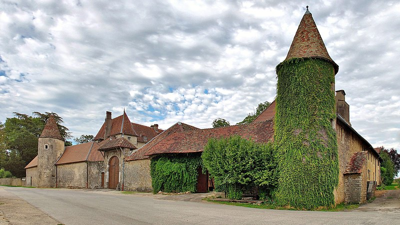 Photo du Monument Historique Château situé à Bonnay