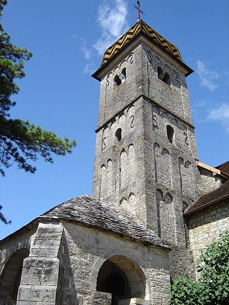 Photo du Monument Historique Eglise situé à Boussières