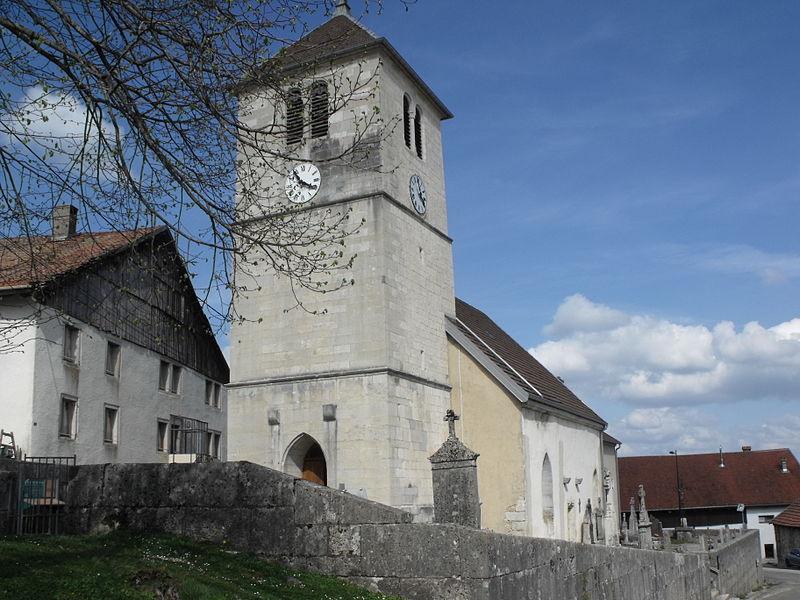 Photo du Monument Historique Eglise situé à Cernay-l'Eglise