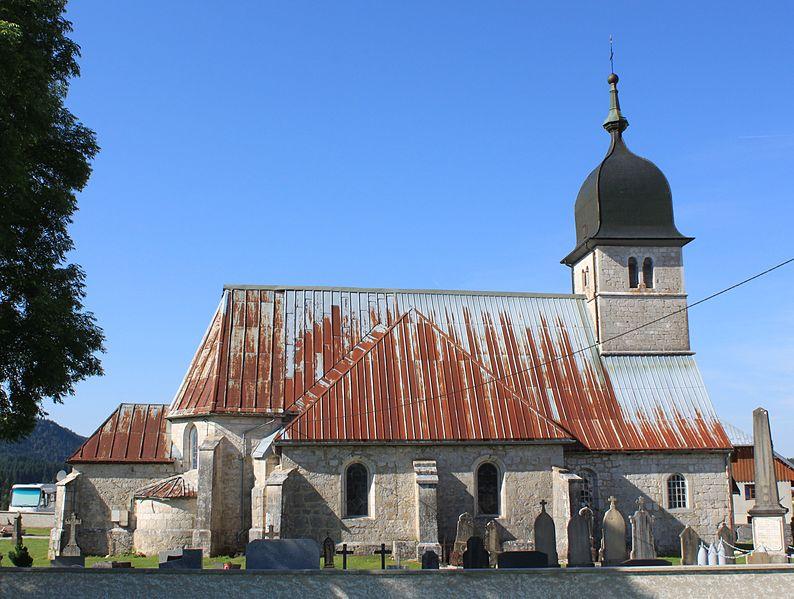 Photo du Monument Historique Eglise situé à Chapelle-des-Bois
