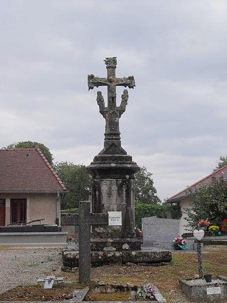 Photo du Monument Historique Calvaire du cimetière situé à Chaucenne