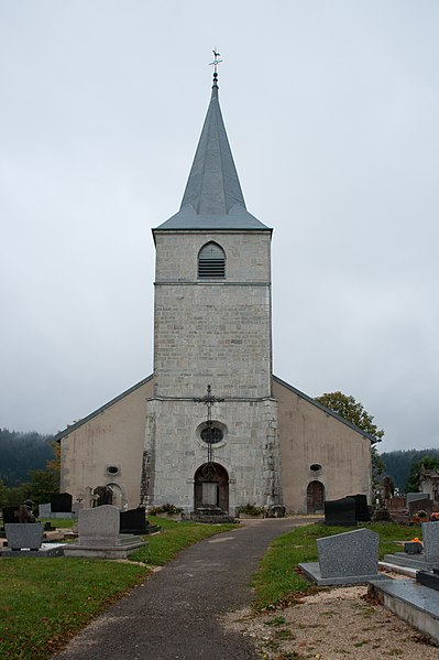 Photo du Monument Historique Eglise situé à Chaux-Neuve