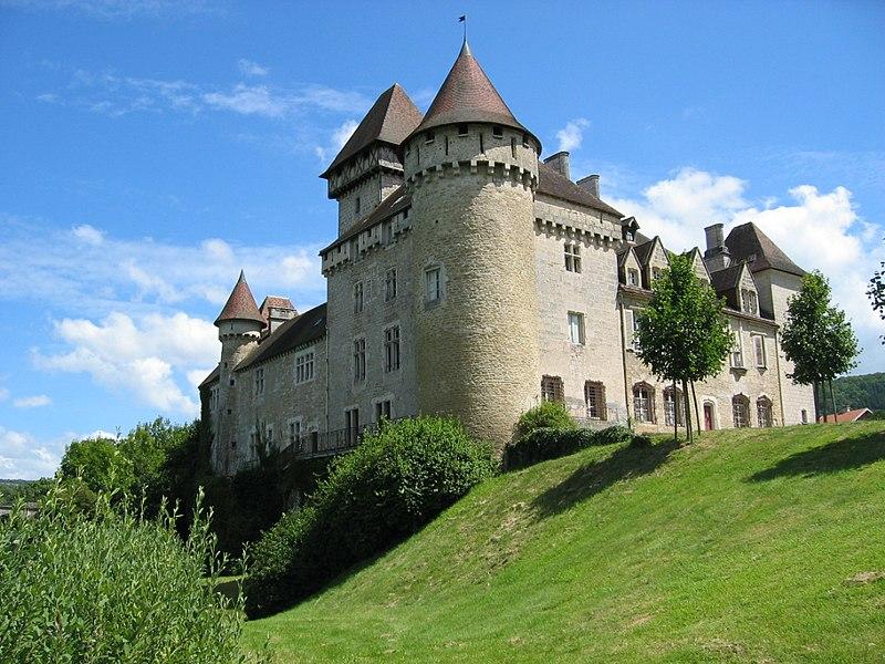 Photo du Monument Historique Château situé à Cléron