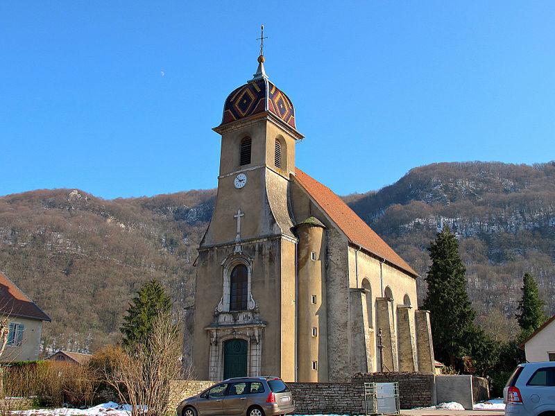 Photo du Monument Historique Eglise situé à Deluz