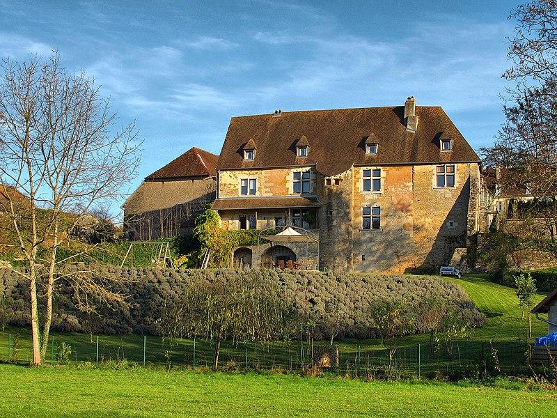 Photo du Monument Historique Château d'Ecole situé à Ecole-Valentin