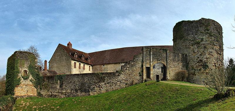 Photo du Monument Historique Château situé à Etrabonne