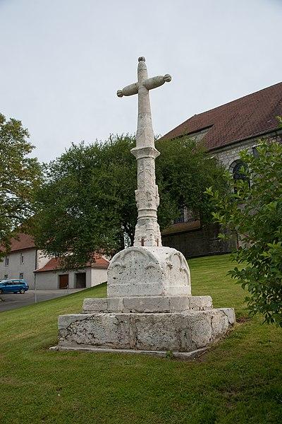 Photo du Monument Historique Croix situé à Flangebouche