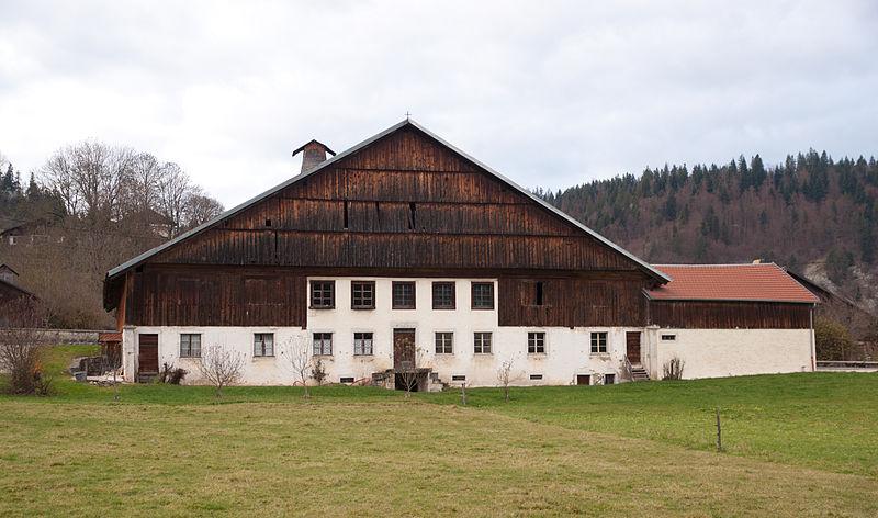 Photo du Monument Historique Ferme situé à Grand'Combe-Châteleu