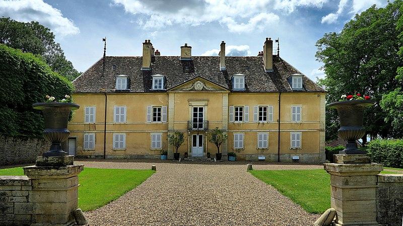 Photo du Monument Historique Château de Jallerange situé à Jallerange