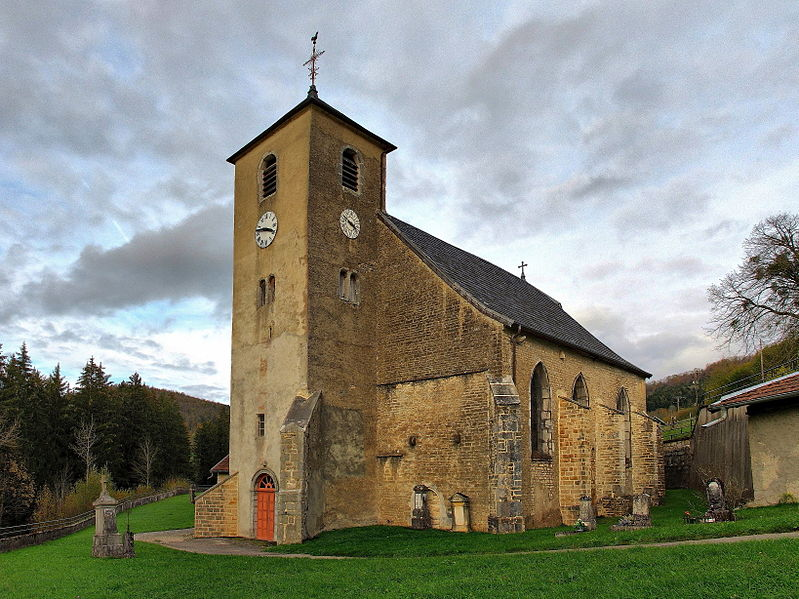 Photo du Monument Historique Eglise situé à Laval-le-Prieuré
