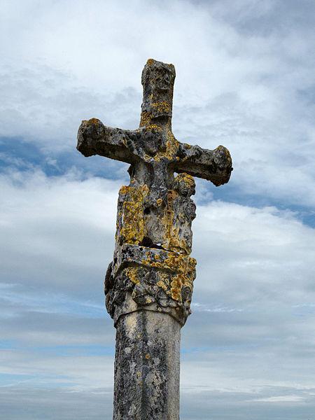 Photo du Monument Historique Croix en pierre situé à Lizine