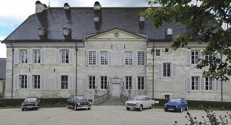 Photo du Monument Historique Château de Montalembert et son parc situé à Maîche
