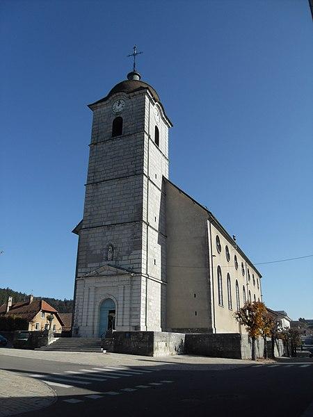 Photo du Monument Historique Eglise situé à Maîche