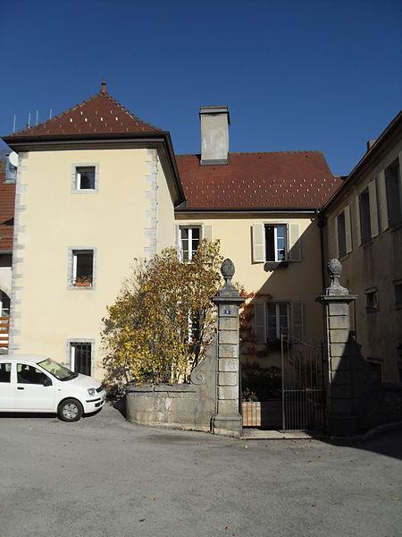 Photo du Monument Historique Hôtel de Granvelle situé à Maîche