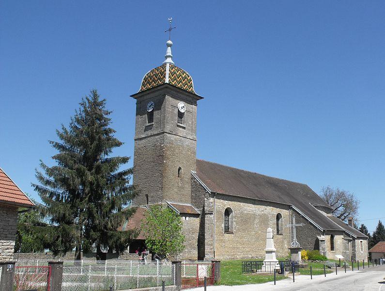 Photo du Monument Historique Eglise situé à Mercey-le-Grand