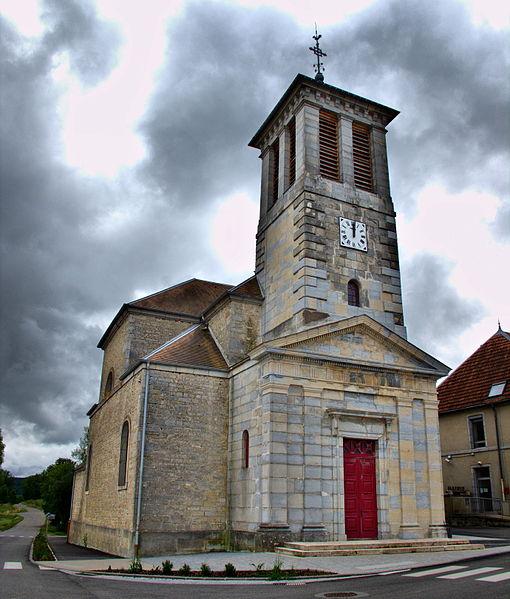 Photo du Monument Historique Eglise situé à Mérey-sous-Montrond