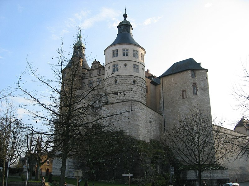 Photo du Monument Historique Château situé à Montbéliard