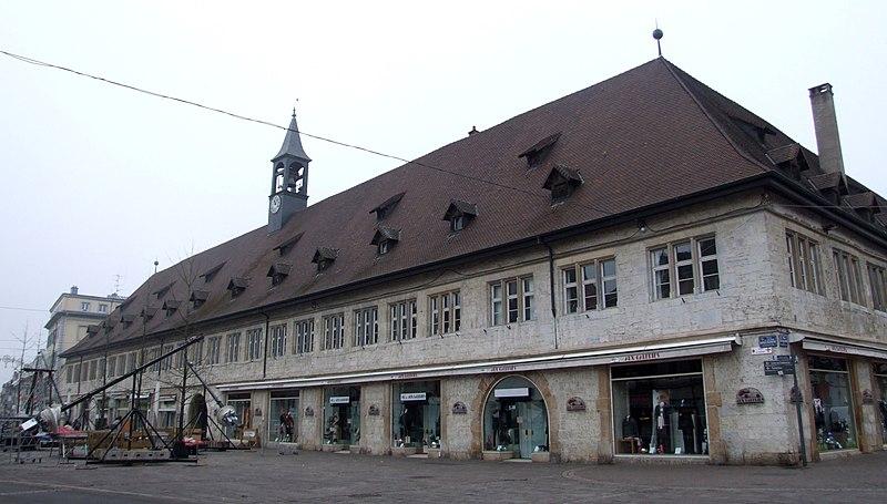Photo du Monument Historique Halles situé à Montbéliard