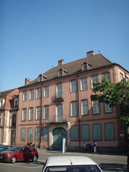 Photo du Monument Historique Hôtel Beurnier-Rossel situé à Montbéliard