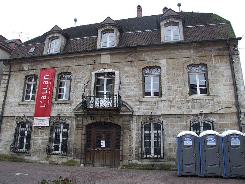 Photo du Monument Historique Maison Rossel situé à Montbéliard