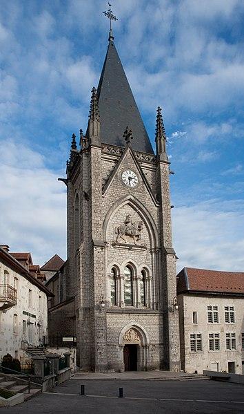 Photo du Monument Historique Ancienne abbaye situé à Montbenoît
