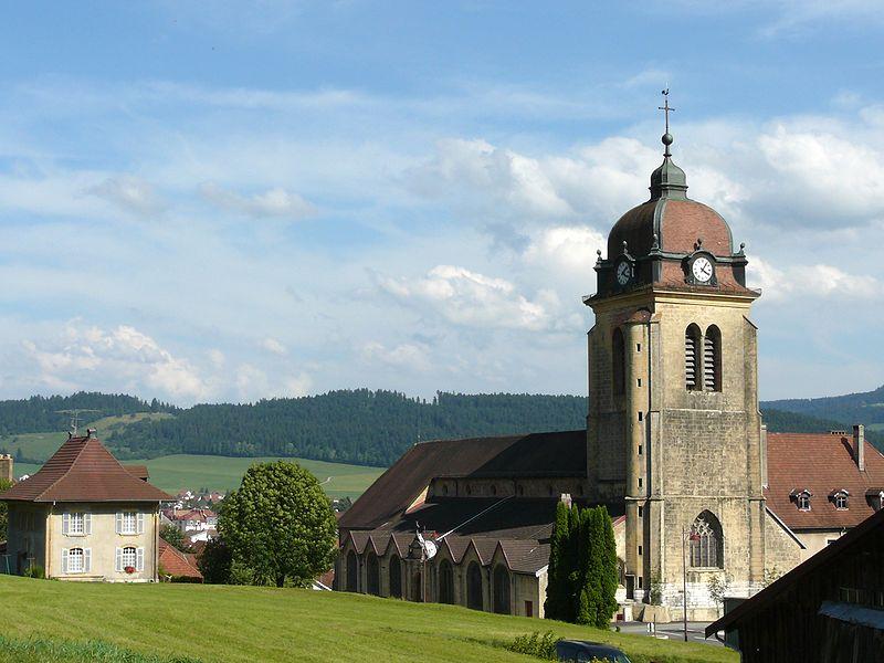 Photo du Monument Historique Eglise situé à Morteau