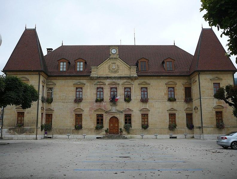 Photo du Monument Historique Hôtel de ville situé à Morteau