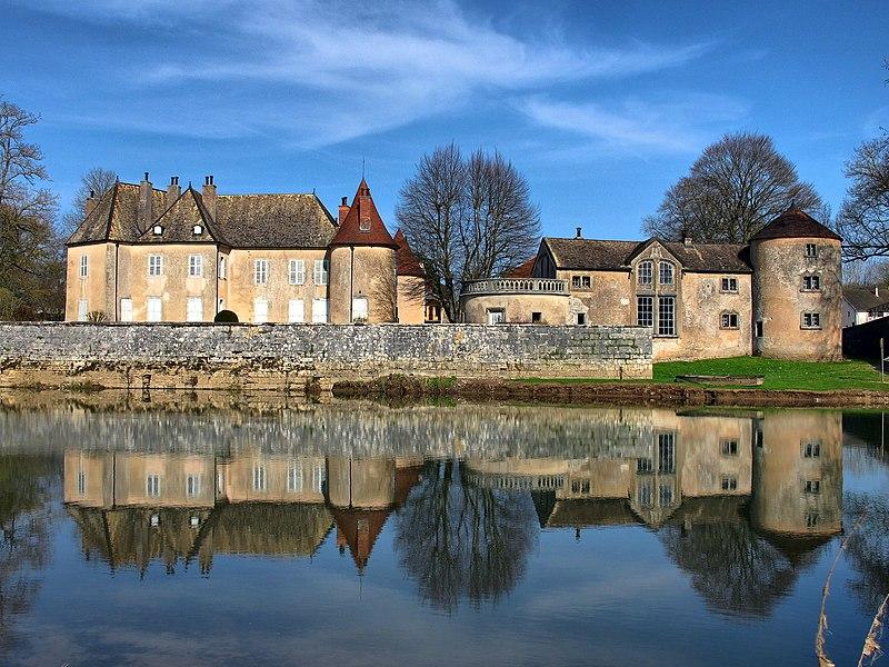 Photo du Monument Historique Château situé à Ollans
