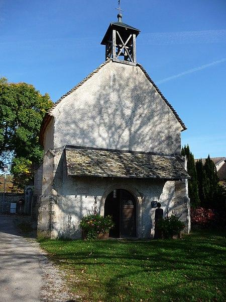 Photo du Monument Historique Chapelle Saint-Georges situé à Ornans