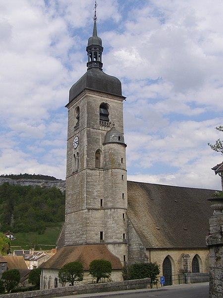 Photo du Monument Historique Eglise Saint-Laurent situé à Ornans