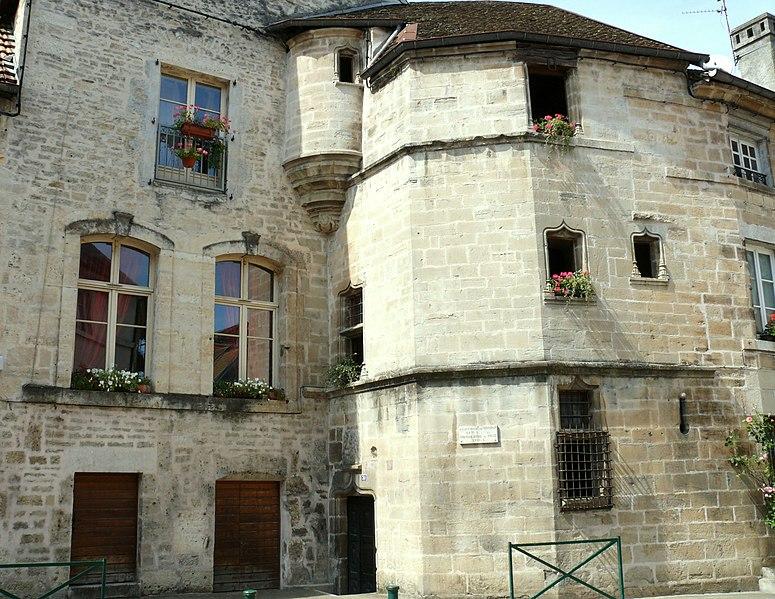 Photo du Monument Historique Hôtel de Grospain situé à Ornans