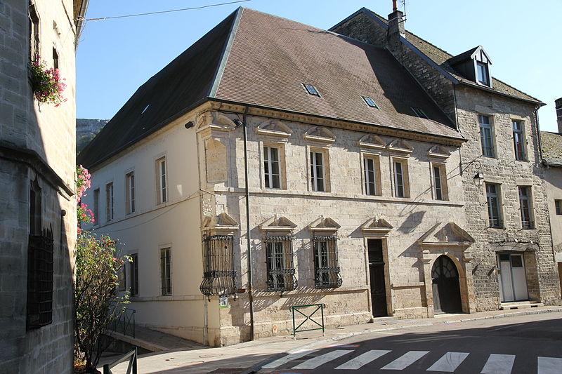 Photo du Monument Historique Hôtel Sanderet de Valonne situé à Ornans