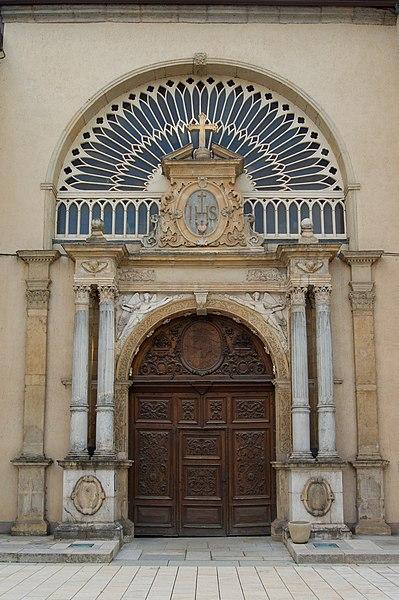 Photo du Monument Historique Chapelle des Annonciades situé à Pontarlier