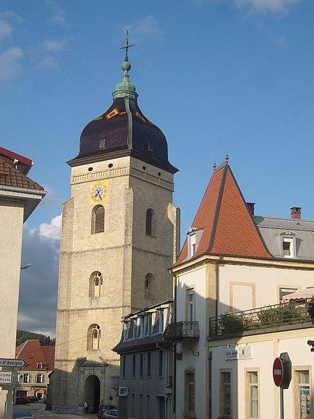 Photo du Monument Historique Eglise Saint-Bénigne situé à Pontarlier