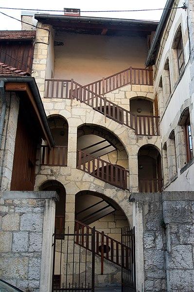 Photo du Monument Historique Immeuble situé à Pontarlier