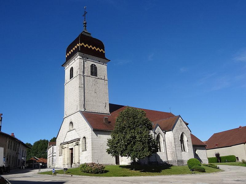 Photo du Monument Historique Eglise situé à Rivière-Drugeon (La)