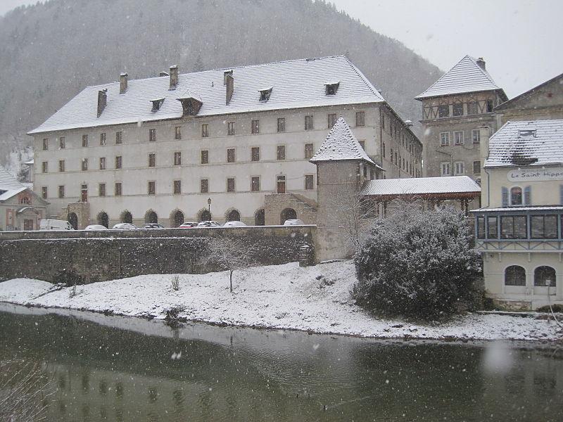 Photo du Monument Historique Couvent des Ursulines situé à Saint-Hippolyte