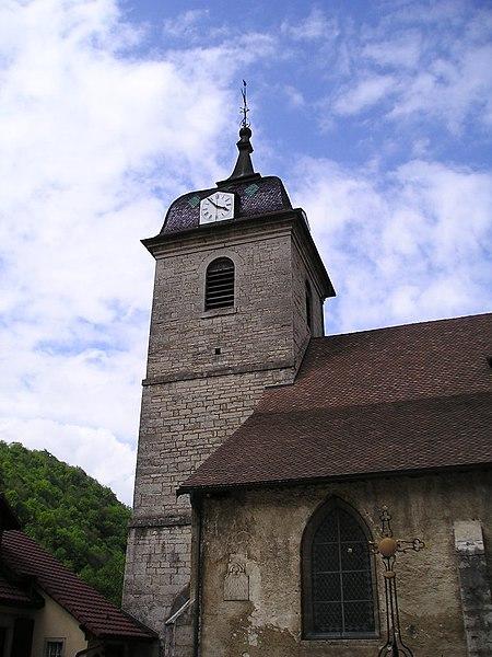 Photo du Monument Historique Eglise situé à Saint-Hippolyte