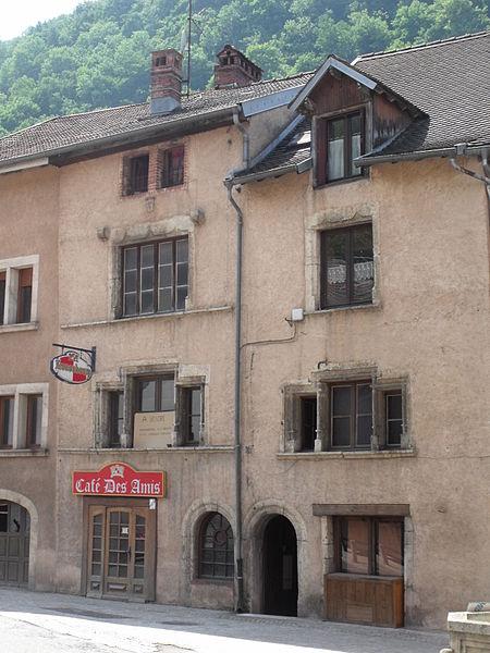 Photo du Monument Historique Maison situé à Saint-Hippolyte
