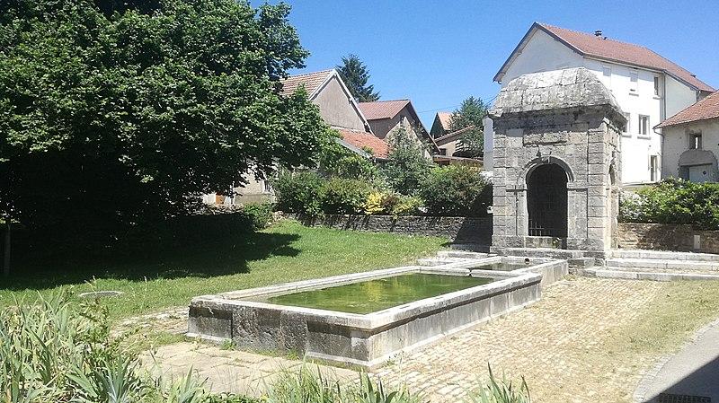 Photo du Monument Historique Fontaine situé à Sainte-Marie