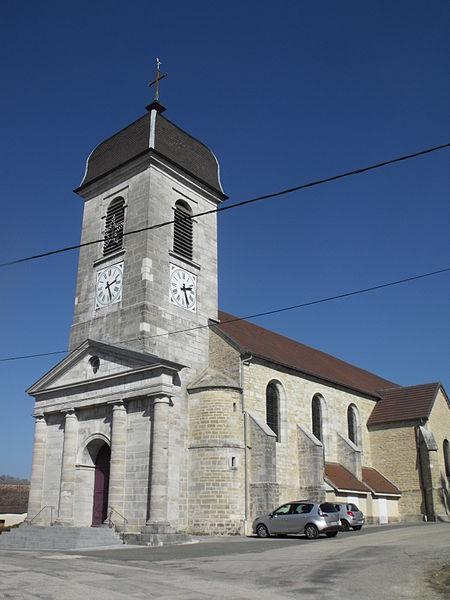 Photo du Monument Historique Eglise de Sancey-l'Eglise situé à Sancey-le-Grand