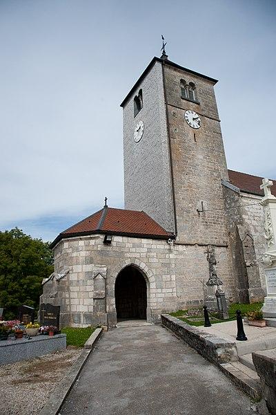 Photo du Monument Historique Eglise Saint-Nicolas situé à Septfontaines
