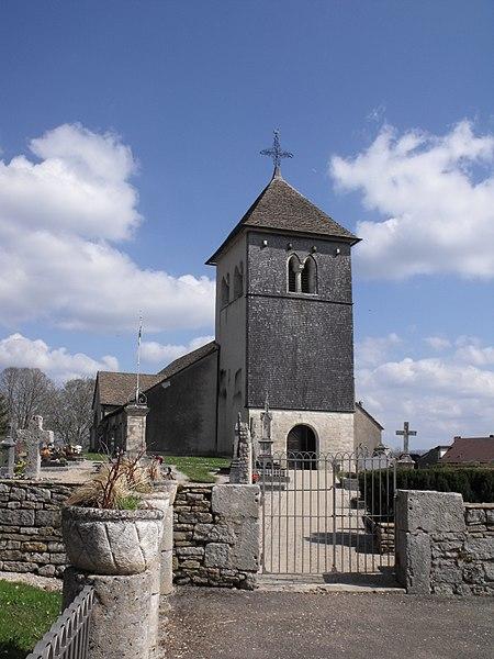 Photo du Monument Historique Eglise Saint-Léger de Chaux-lès-Châtillon situé à Terres-de-Chaux (Les)